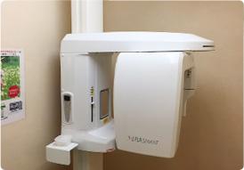 最新型歯科用CT完備